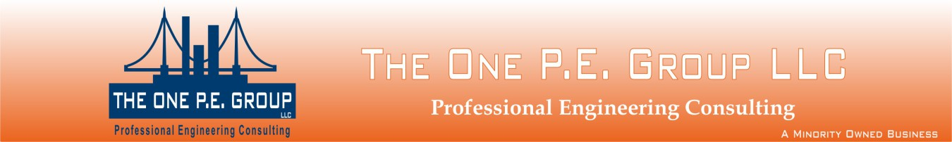 The One PE Group LLC- Civil Structural Engineering